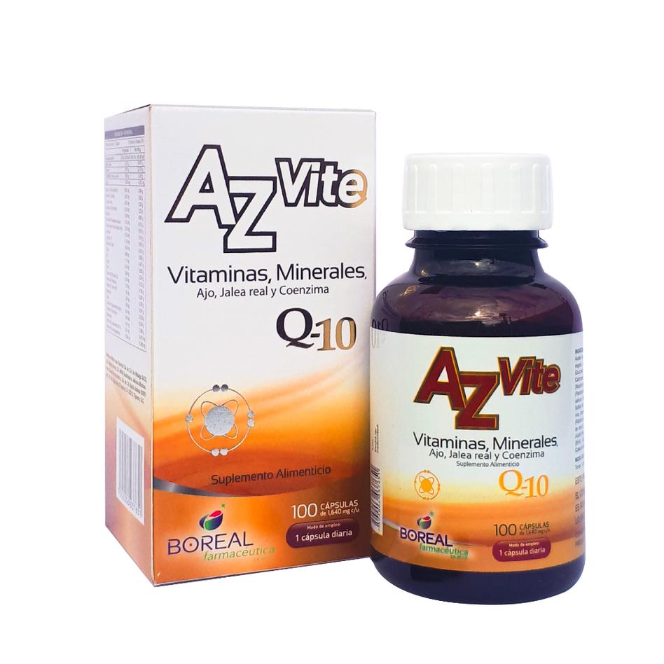 AZvite Vitaminas y Minerales