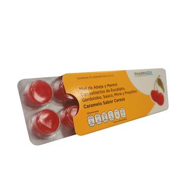 Rx Caramelos de miel sabor Cereza