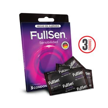 Fullsen Sensibilidad c3 Condones