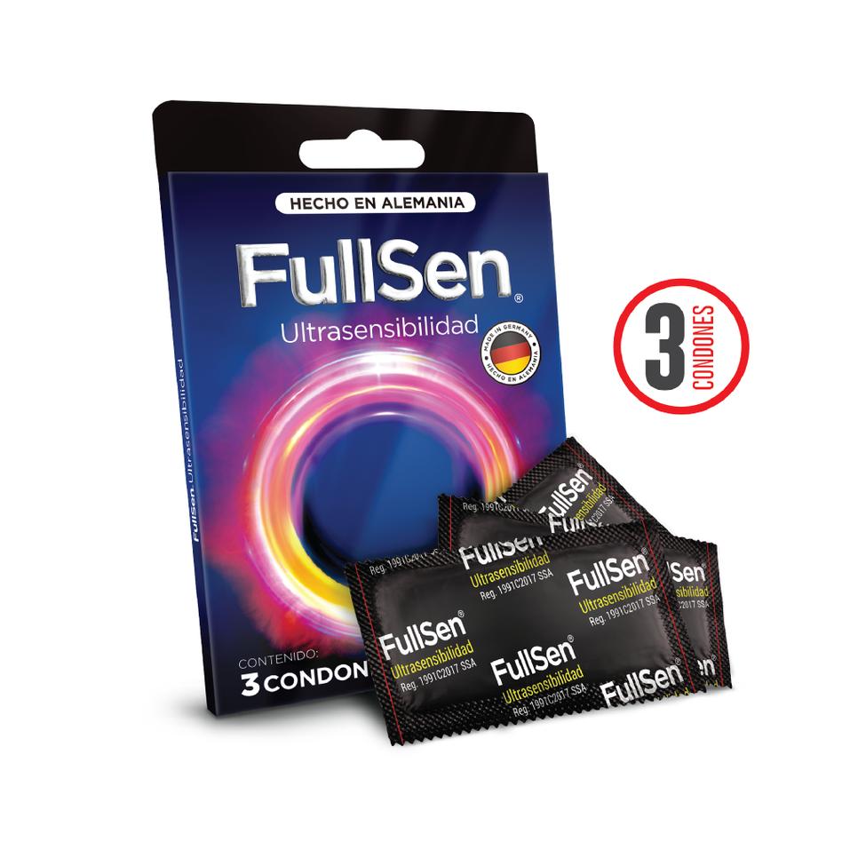 Fullsen Ultrasensibilidad c3 Condones