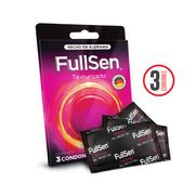 Fullsen Texturizado c3 Condones