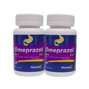 Rx Omeprazol 20mg 2 fcos con 60 c/u