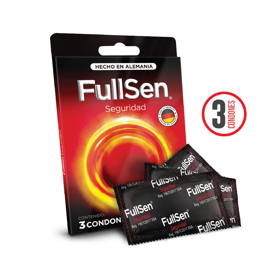 Fullsen Seguridad c/3 condones