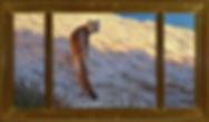 Mountain Lion Cougar original painting