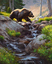 Headwaters Crossing 32x26 Oil 2020 $10,0
