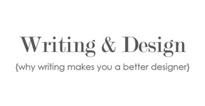 The Relation Between Writing & Design