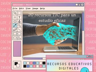 20 recursos TIC para un estudio eficaz