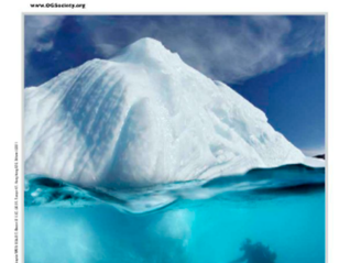 One of my images published in Ocean Geographic Magazine