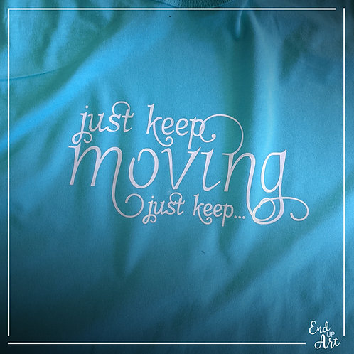 SALE: Just Keep Moving Tank