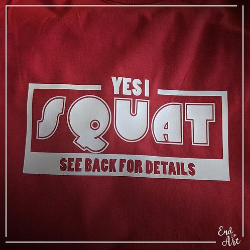 SALE: Yes I Squat Tank