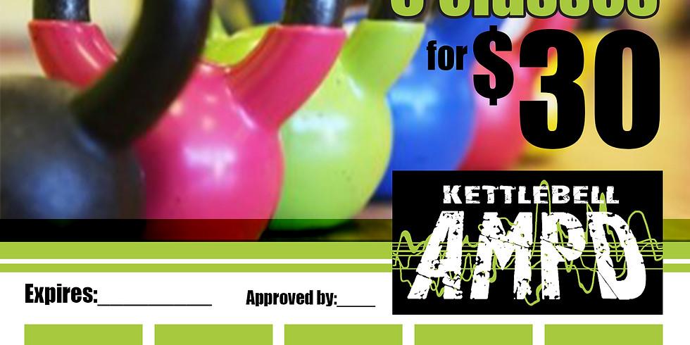 Kettlebell AMPD Punch Card Non-Member