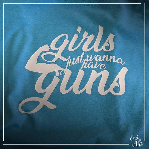 Girls/Guns Tank