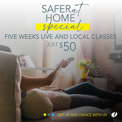 SAFER AT HOME special