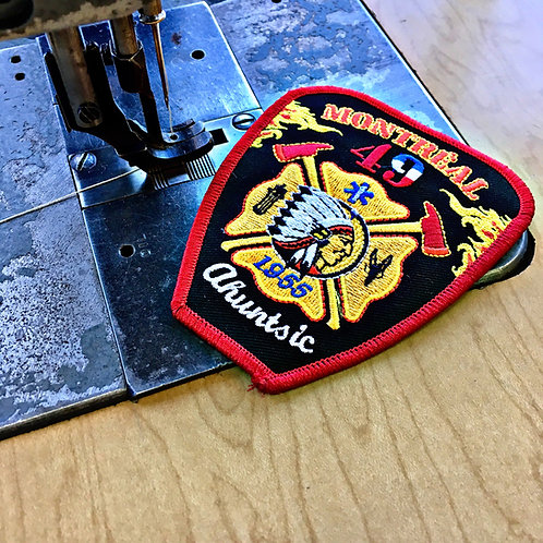 Get your own badge sewn