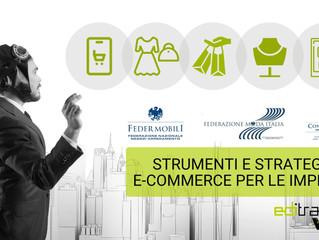 Strumenti e strategie di e-commerce per le imprese