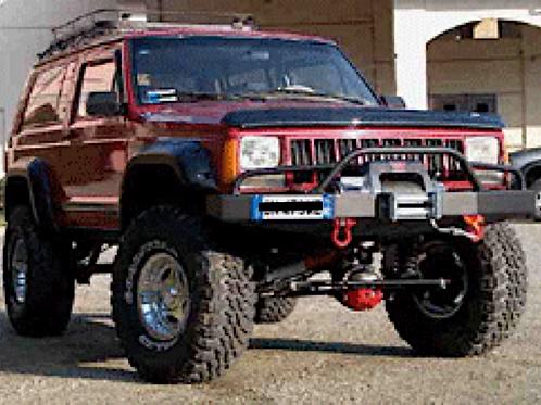 Jeep Cherokee XJ TrailBlazer Winch Bumper Package