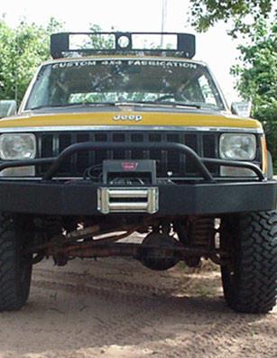 Original Bumper w/prerunner Light Bar