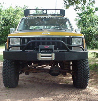 Original Bumper w/prerunner Light Bar