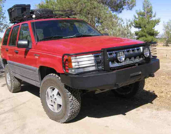 ZJ Front w/Grill Guard