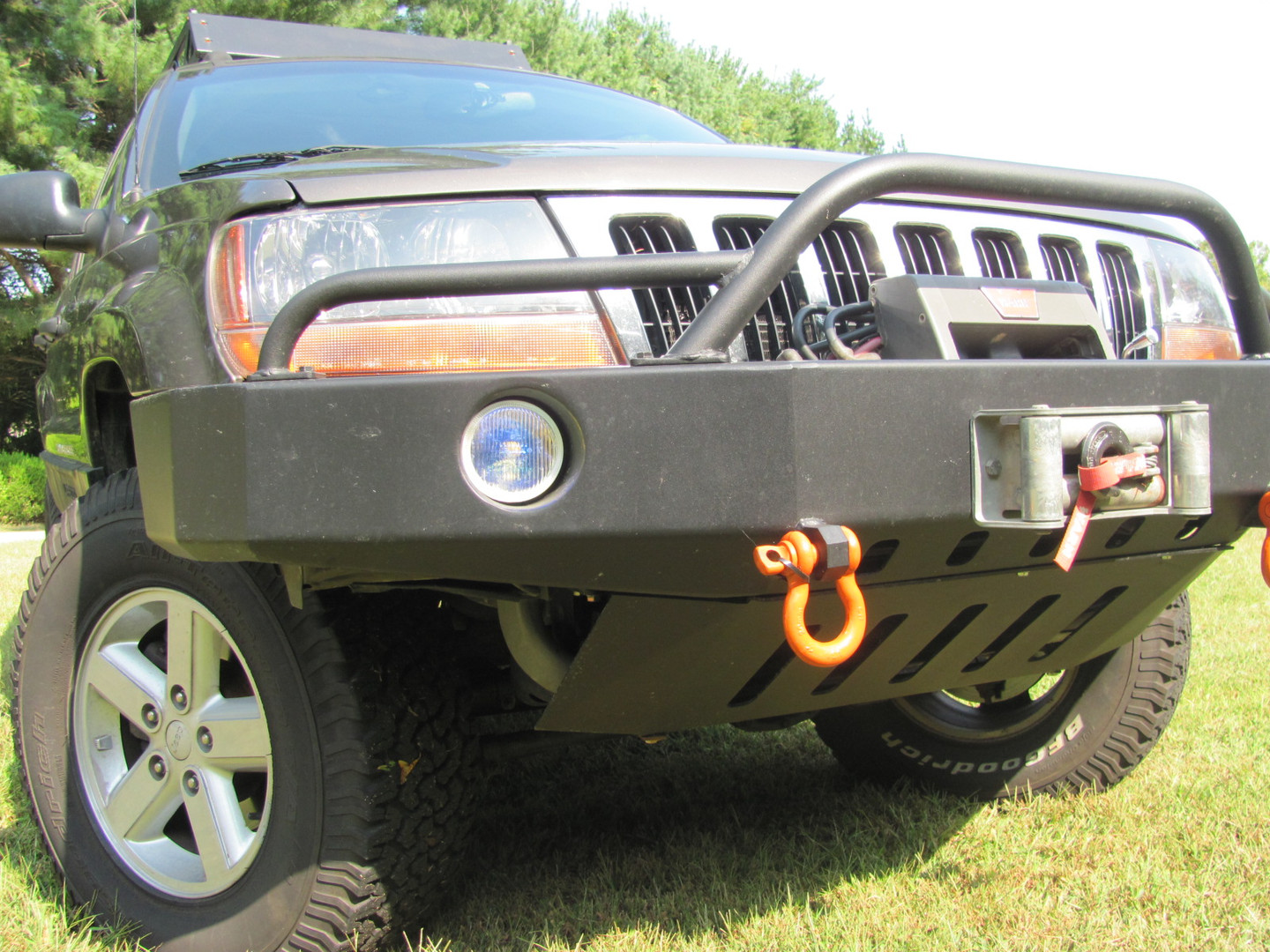 WJ Front Bumper & Skid plate