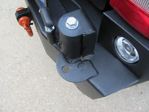 Multi-Position Swing Stop for Tire Carrier
