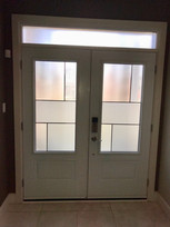 Double Door & Custom Transom - Anya