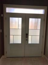 Double Door & Custom Transom - Anya