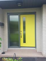 Door & One Custom Sidelite - Wide Reed