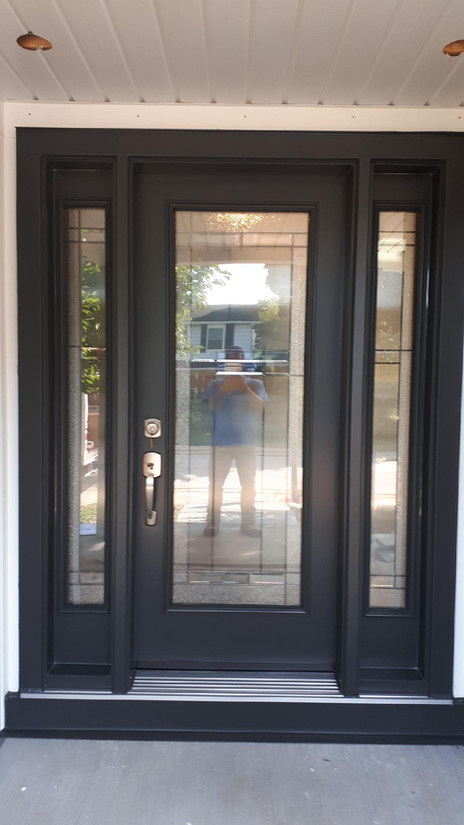 Door & 2 Sidelites - Oakhill