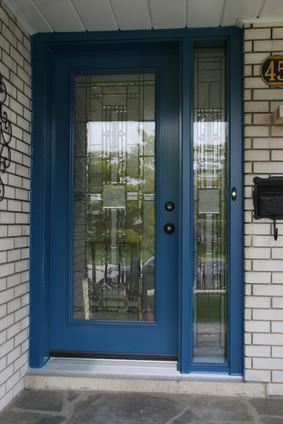 Door & One Custom Sidelite - Kingston