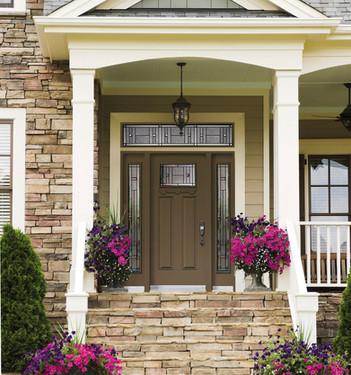 Door & 2 Sidelites with Custom Transom - Attraction