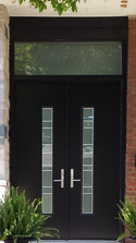 Double Door & Custom Transom - Matisse