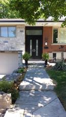 Double Door & Custom Transom - Matisse