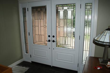 Double Door & 2 Sidelites - Cachet