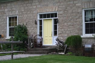 Door & 2 Custom Sidelites & Transom - Custom Dynasty Moulding
