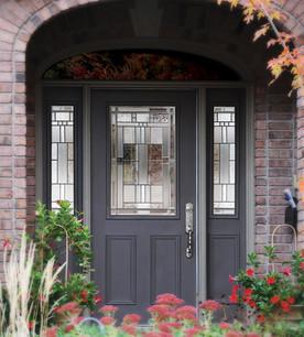 Door & 2 Sidelites - Cachet