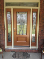 Door & 2 Sidelites & Transom - Kingston