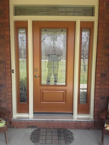 Door & 2 Sidelites with Custom Transom - Kingston