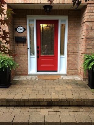 Steel Door & 2 Sidelites - Adelaide