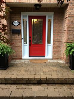 Door & 2 Direct Glazed 8x48 Sidelites with Kick Panels on top & bottom