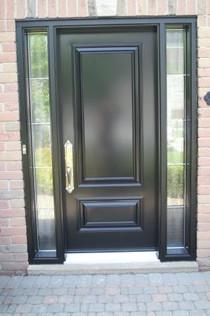 Door & 2 All Glass Sidelites
