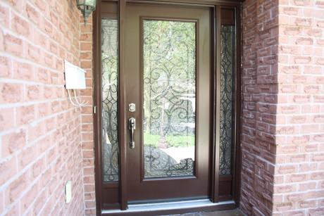 Door & 2 Direct Glazed 7x64 Sidelites with Kick Panels on top & bottom