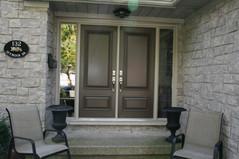 Double Door & 2 Custom Sidelites - Clear