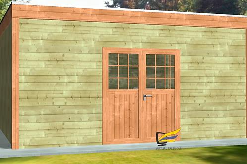 Garden shed lead generator type 1