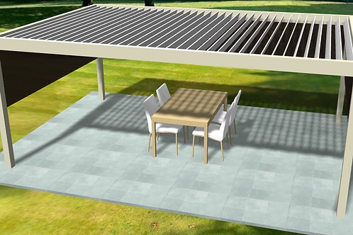 Louvered roof lead generator type 1