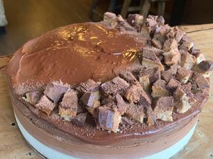 Raw Choc Caramel Cheesecake