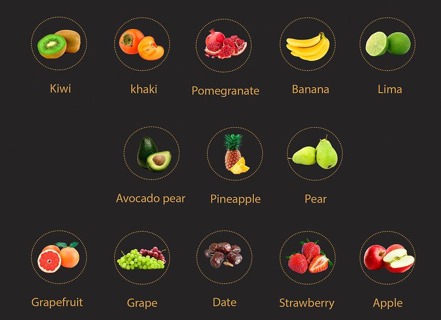 Fruits Fruser Cox