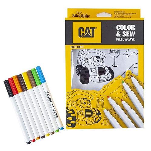 KIT - Color & Sew Pillowcase Kit - CAT