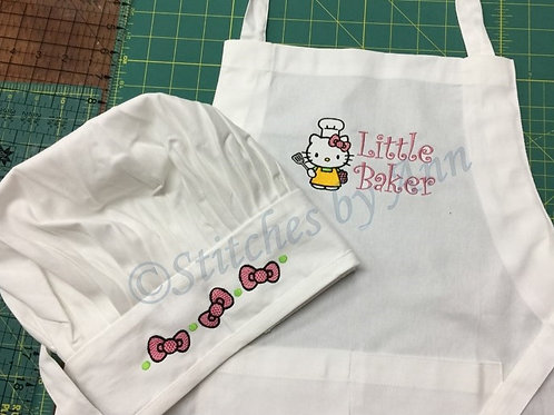 Child's Chef Set - Kitty Little Baker