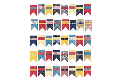 Amy Smart Summer Bunting Quilt Pattern